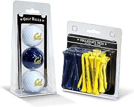 "Team Golf NCAA Logo Imprinted Golf Balls (3 Count) & 2-3/4"" Regulation Golf Tees.."
