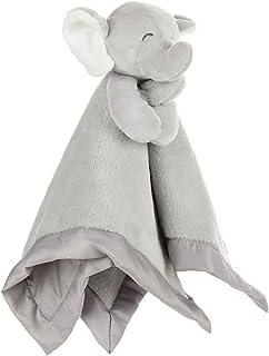 KIDS PREFERRED Carter`s Elephant Plush Stuffed Animal Snuggler Blanket - Gray