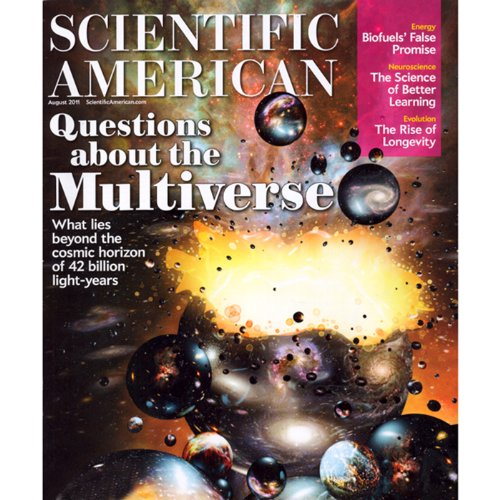 Scientific American, August 2011 copertina