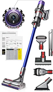 Dyson V11 Torque Drive Handheld Portable Stick Vacuum Cleaner with Manufacturer's Warranty - Includes Mini Motorized Tool + Combination Tool + Crevice Tool + Soft Dusting Brush and Stiff Bristle Brush