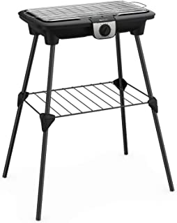 Tefal EasyGrill XXLBarbecue Electrique Pieds, Large Surface de Cuisson,Chauffe Rapide 2500 W, Thermostat Réglable,Cuiss...
