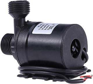ULTECHNOVO DC 12 V borstlös dykvattenpump ultratyst vattenpump 800 l/H 5 m för fiskedamm akvarier brunnen utgifter solvatt...