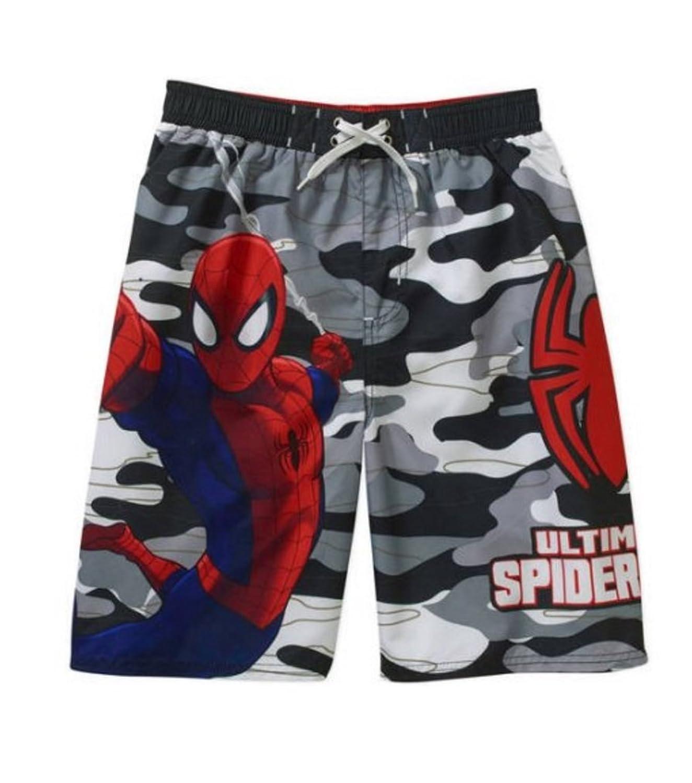 MarvelスパイダーマンボーイズSwim Trunks Shortsサイズ6?/ 7