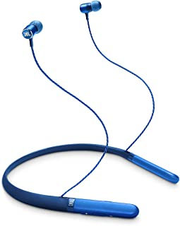 JBL Live 200 - Auriculares in-ear inalámbricos, color azul (Renewed)