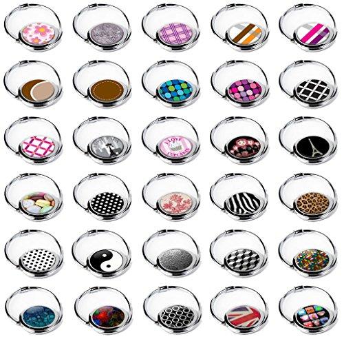 5 Stück Faltbare Hänge-Haken, mehrfarbig, 30 pièces, Handtaschenhalter