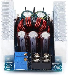 Weikeya Módulo convertidor CC-CC, módulo de Fuente de alimentación de Tornillo de Corriente y Voltaje de Metal plástico