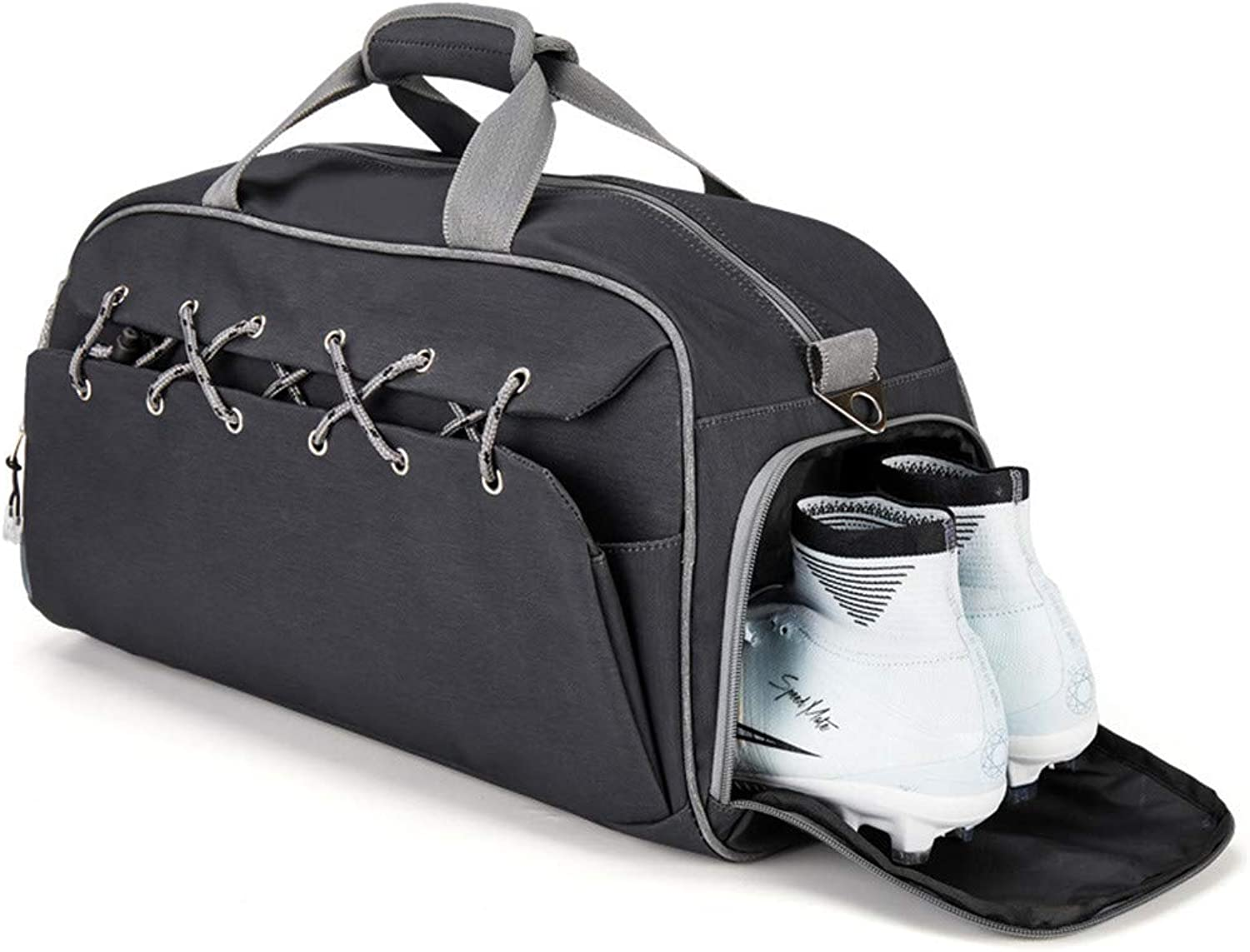 Sports Gym Duffel Bag with shoes Compartment Waterproof Travel Holdall Large Sports Bag for Men Women