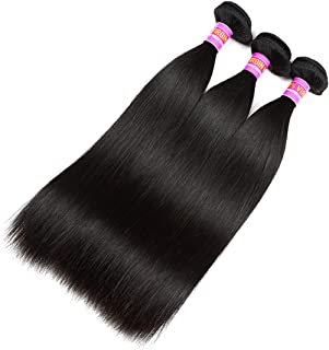 RN BEAUTY Mink 8A Brazilian Virgin Hair Straight Hair 3 Bundles Deals Weave Human Hair Extensions 100% Unprocessed Good Cheap Weave Remy Hair 10 12 14 Inch