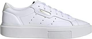 adidas Originals Women's Sleek Super Platform Sneakers Leather White in Size US 8.5