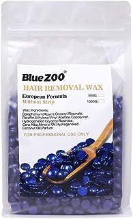 BlueZoo Depilatory Hard Wax Beans - 500 gms Bag - Pearl Lavender