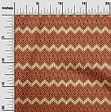 oneOone Baumwolle Batist Stoff Geometrisch & Blumen Block