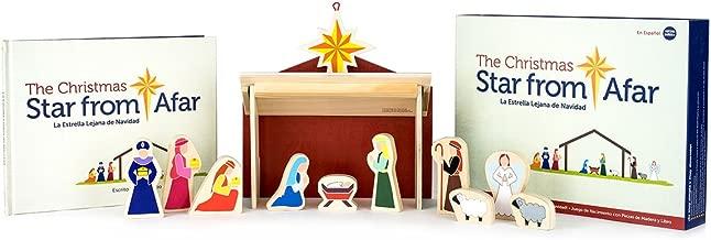 Star From Afar The Christmas LA Estrella LEJANA DE Navidad - Nacimiento de Adviento Navideño para Pequeños