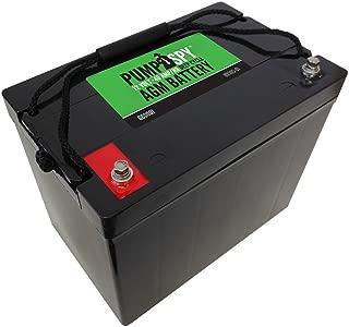 PumpSpy 12 VDC 40 Ah Deep Cycle AGM Battery
