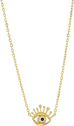 Marc Jacobs - Something Special Evil Eye Pendant Necklace