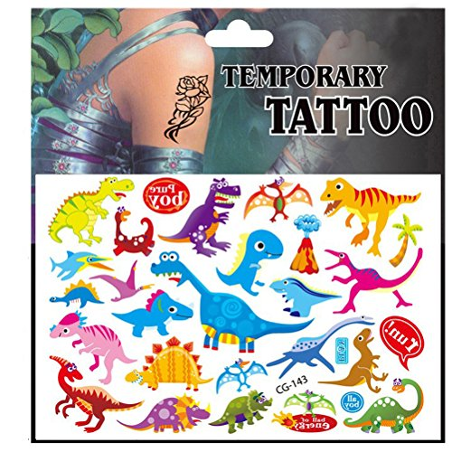 TOYMYTOY Niños de Dibujos Animados Tatuajes Temporales Etiqueta ...