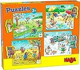 HABA-301888 Puzzles Las Cuatro Estaciones Puzle Infantil, Multicolor (301888)