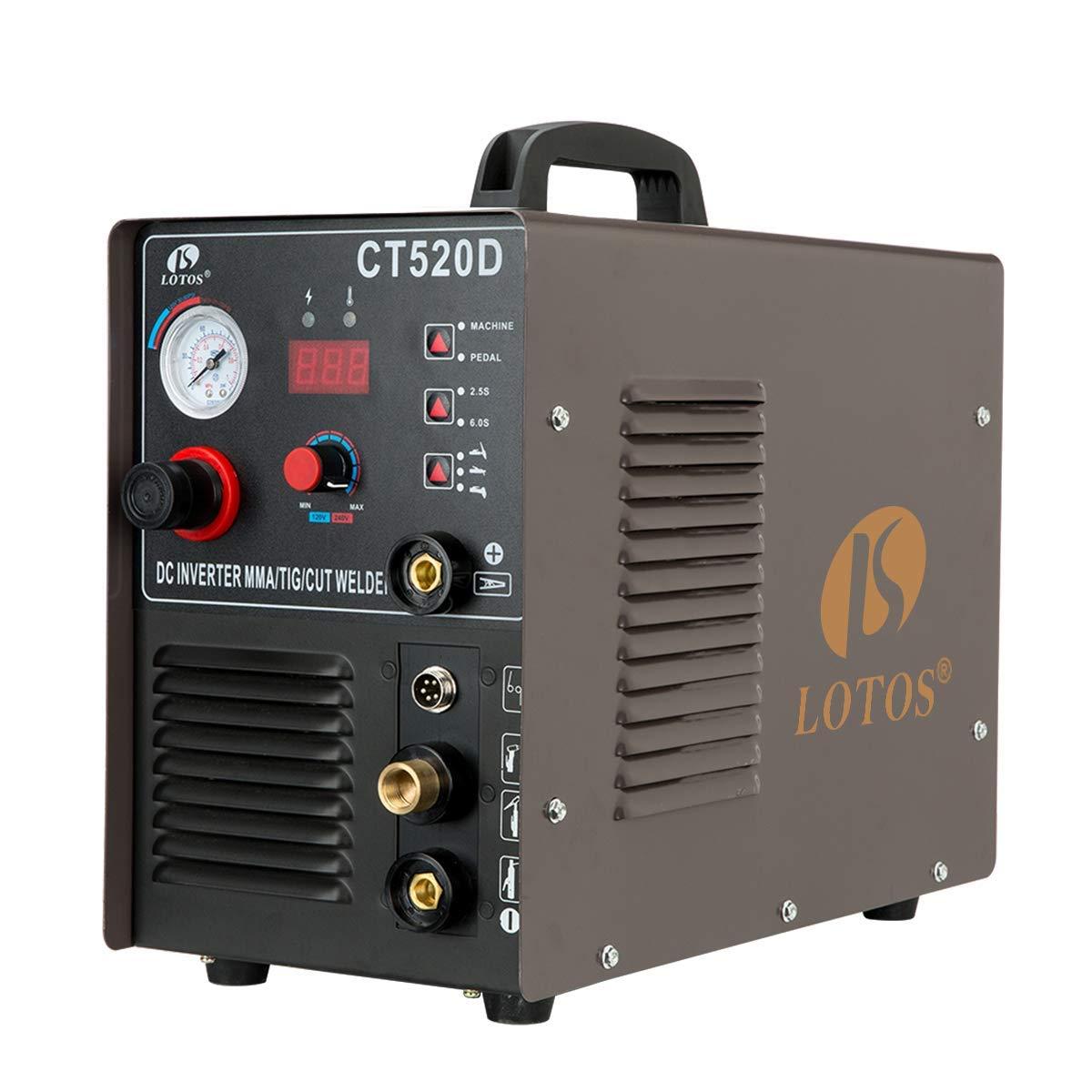 LOTOS CT520D Plasma Cutter – Best Three-in-One Combon