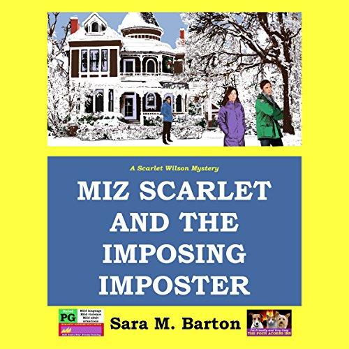 Miz Scarlet and the Imposing Imposter     Scarlet Wilson Mystery, Volume 1              De :                                                                                                                                 Sara M. Barton                               Lu par :                                                                                                                                 Sara M. Barton                      Durée : 6 h et 10 min     Pas de notations     Global 0,0