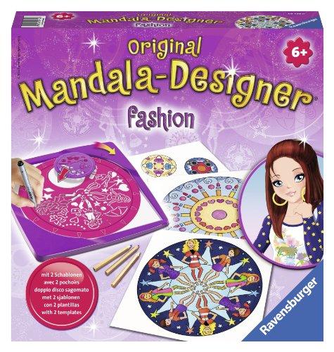 Ravensburger – Mandala – Midi – Fashion Style – Loisir créatif – Dessin – Enfant dès 6 ans – 29756