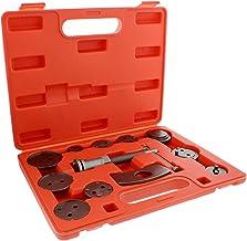 ABN کلیدهای جلو و عقب دیسک ترمز در پیچ عقب در عقب و پیستون فشرده سازی 12 قطعه مجموعه ابزار تنظیم