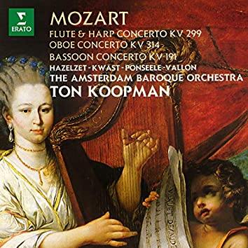 Mozart: Concertos for Flute and Harp, Oboe and Bassoon