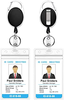 Best name badge holders retractable Reviews