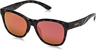 Smith Caper 201042PHW539V Womens Camo Tort Frame Rose Gold Polarized Lens Square Sunglasses