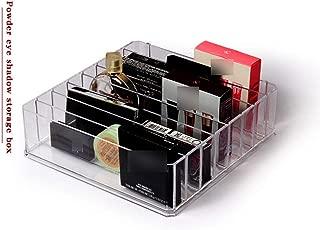 Plastic Ps Makeup Organizer Cream Storage Box Clarity Cosmetic Makeup Holder Vanity Cabinet Powder Display Shelf,24.23.6.cm,8