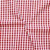 STOFFKONTOR Baumwollstoff Hemden Qualität Vichy Karo