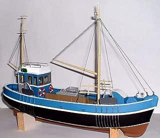 Langley Models 45ft Fishing Trawler Waterline Boat/Ship O Scale UNPAINTED Kit OM1a