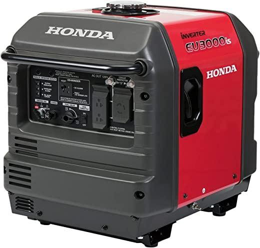 Honda 664270 EU3000iS 3000 Watt Portable Inverter Generator with Co-Minder