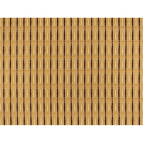 "Speaker Grill Cloth Fabric Beige/Brown Yard 36"" Wide"