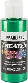 Createx 5305-02 Airbrush Paint, Pearl Green, 2 oz