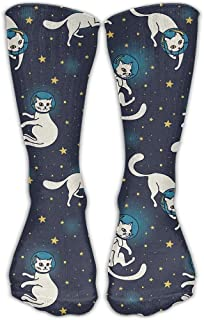 Schnauzer And Dalmatian Casual Crew Sock Novelty Tube Socks Long For Adult Outdoor Workout Celebration 50cm