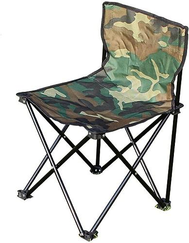 DX Table Pliable Table et Chaise de Jardin en Plein air Ensemble de Chaise de pêche Portable Chaise Pliante en Cinq pièces de Camouflage - Vente Unique 38  38  62cm