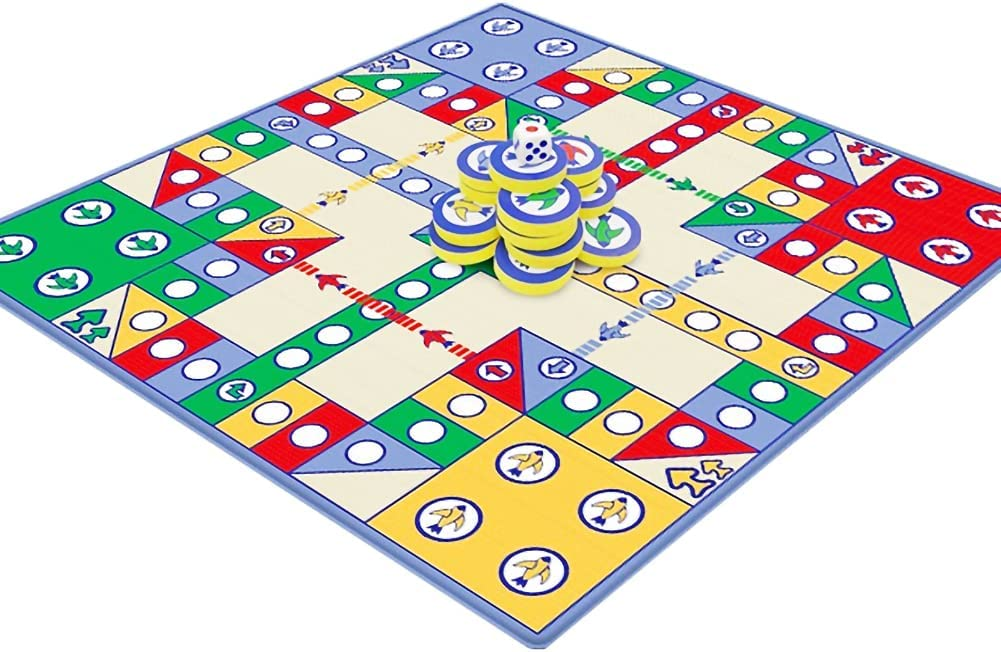 KUOPE Today's only Ludo Game for Kids Free Shipping Cheap Bargain Gift Fam Educational Multifunction Toys with