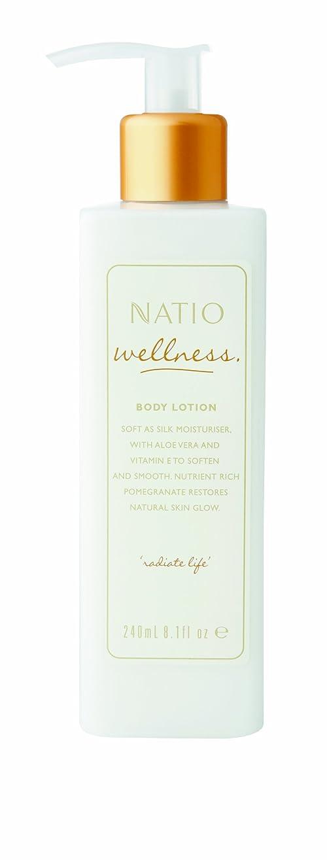 万一に備えて空光Natio Wellness Body Lotion 240ml