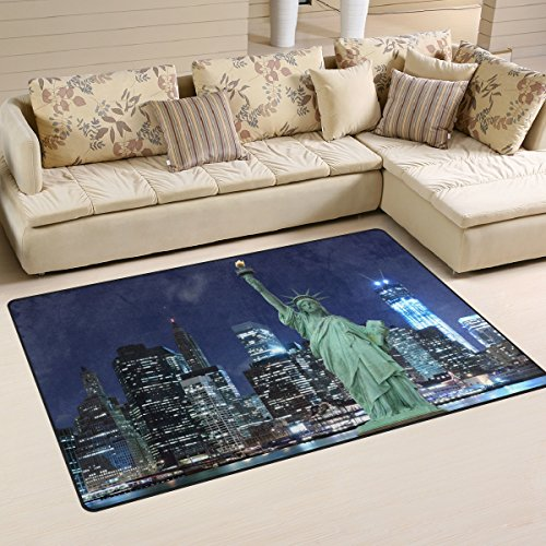New york skyline coussin chambre salon décoration moderne home furnishing usa