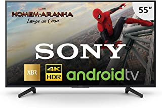 "Smart TV Sony 55"" LED 4K HDR Android XBR-55X805G, Compatível com Alexa"