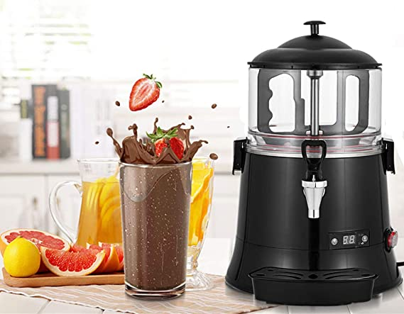 YUCHENGTECH 5L Commercial Hot Chocolate Maker Machine ChocolateDispenserWarmer Hot Beverage Warmer for heating Chocolate Coffee Milktea CE Certification (110V