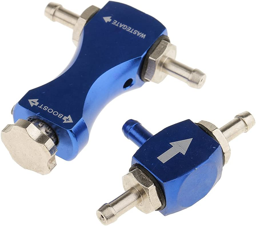 Einstellbar perfk Dampfrad Regler Boost Controller Kompressor Tuning Blau