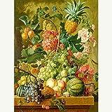 LIUWEI Puzzle Adulte en Bois 1000 pièces encyclopédie de Fruits Peinture décor à la Maison Jouet éducatif Jeu de décompression