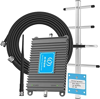 AT&T Cell Phone Signal Booster T-Mobile 4G LTE 700MHz Band 12/17 Home Mobile Signal Repeater Amplifier Antenna Kits for Ho...