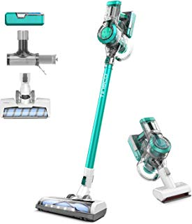 Tineco A11 Master Cordless Vacuum, 450W Motor Power Duo Li-Ion Battery Up to 60 Minutes, Instant Charging Powerhouse, Lightweight Handheld Vacuum Cleaner, TWO LED Power Brushes for Hardwood and Carpet