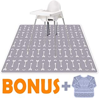 Little Growers Baby Splat Mat for Under High Chair - 51