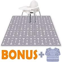 Little Growers Baby Splat Mat for Under High Chair - 51