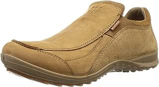 Woodland Men's OGC 3007118_Camel Leather Loafers-9 UK (43 EU) (10 US) 3007118CAMEL