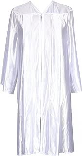 GradPlaza Unisex Economic Choir Robe Shiny Finish Graduation Shiny Gown Only