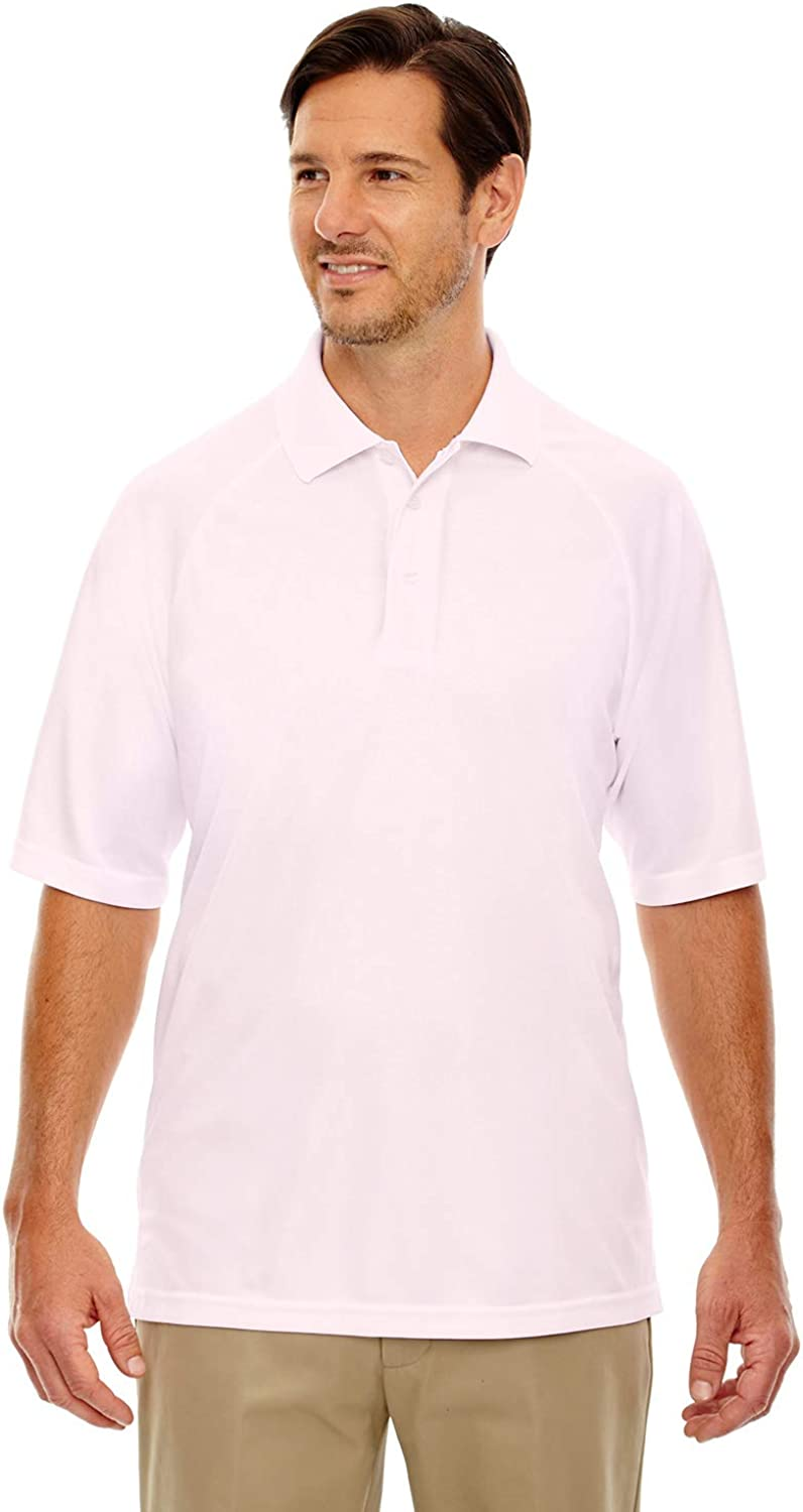 Extreme Eperformance Men's Piqué Polo, 5XL, POWDER PINK 803