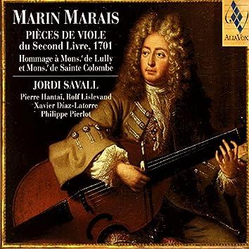 Marin Marais: Pieces De Viole Du Second Livre, 1701